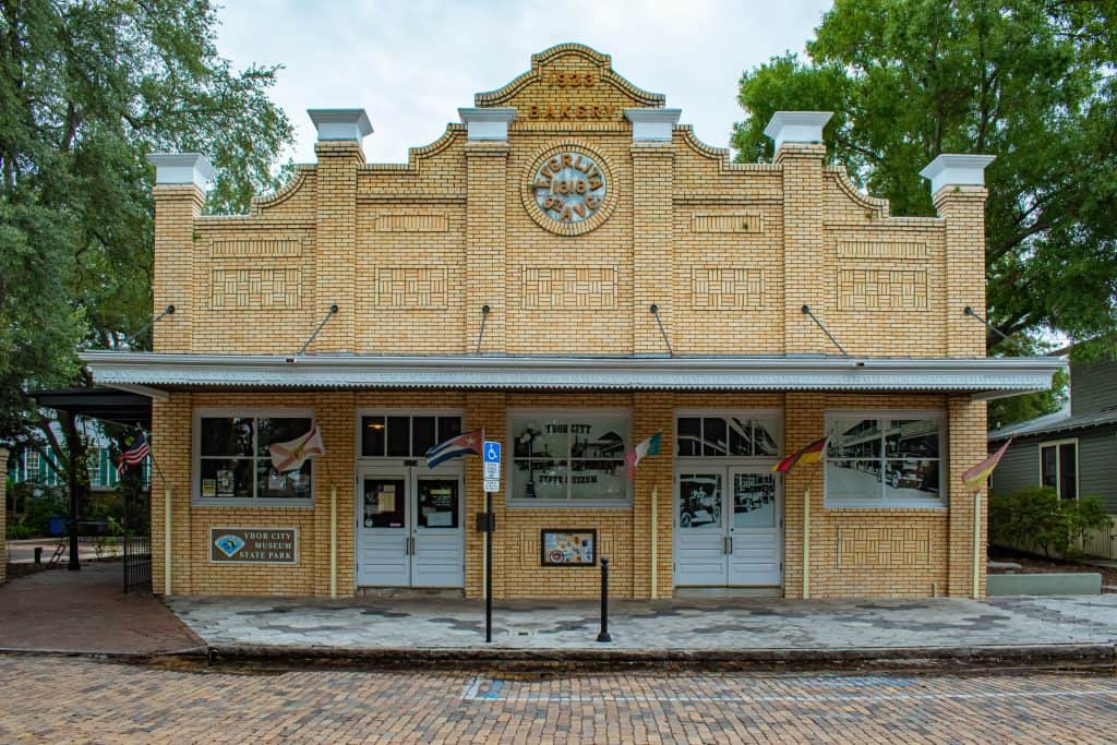 The Ferlita Bakery, home of Ybor City Museum State Park.