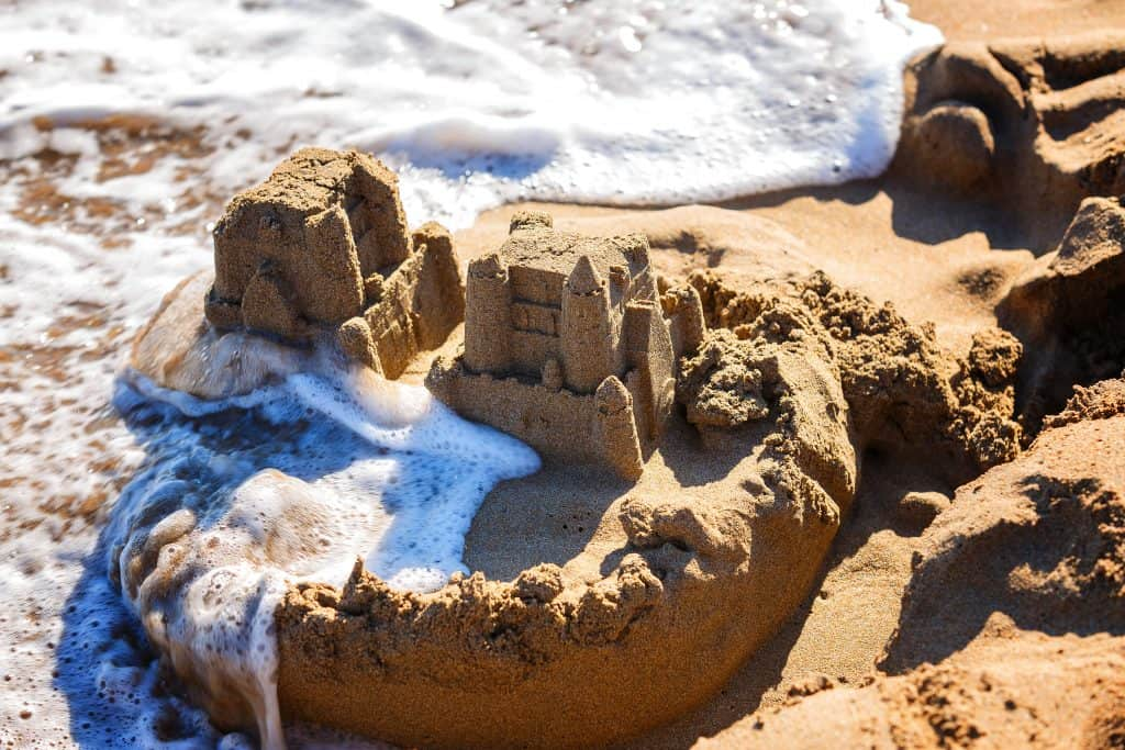 Building sandcastles is one of the best things to do in Destin with the help of trained professionals.