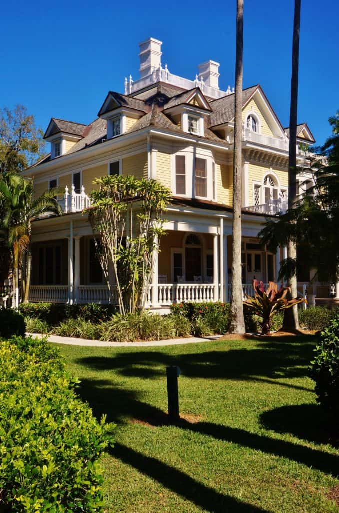 The Burroughs Home and Gardens, a historic mansion dripping in beauty and history.
