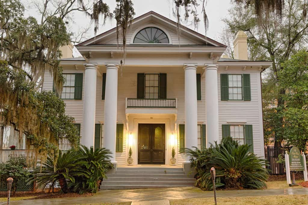 The Knott House, where the Emancipation Proclamation was read in Florida, one of the most historical things to do in Tallahassee.