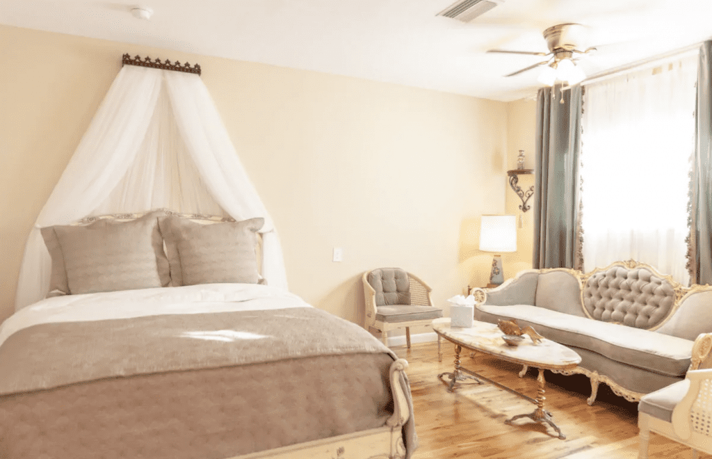 The gorgeous French inspired Casa Del Prince interior, one of the best Clearwater vacation rentals.