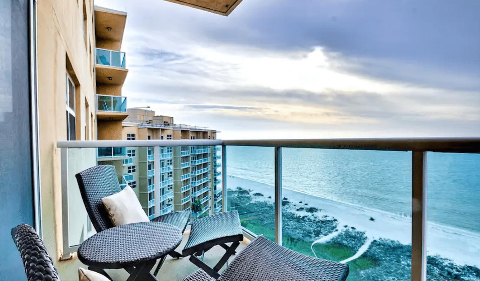 The Regatta Beach Club Airbnb in Clearwater.