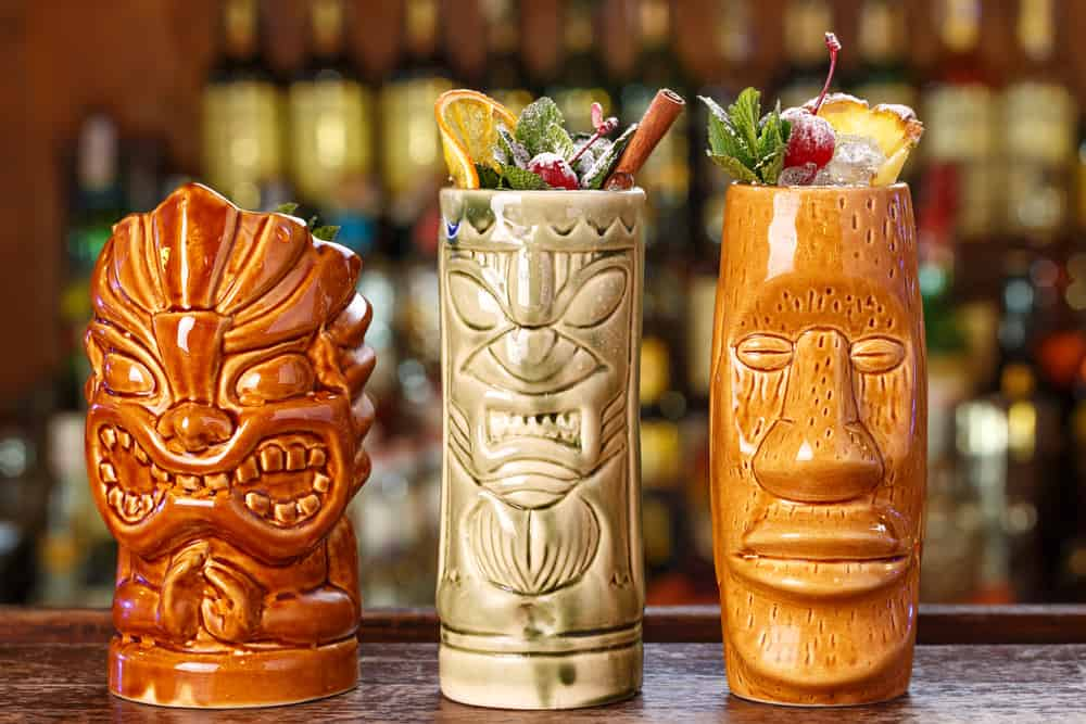 Flask and Cannon is a beach bars in Jacksonville serving tiki theme drinks