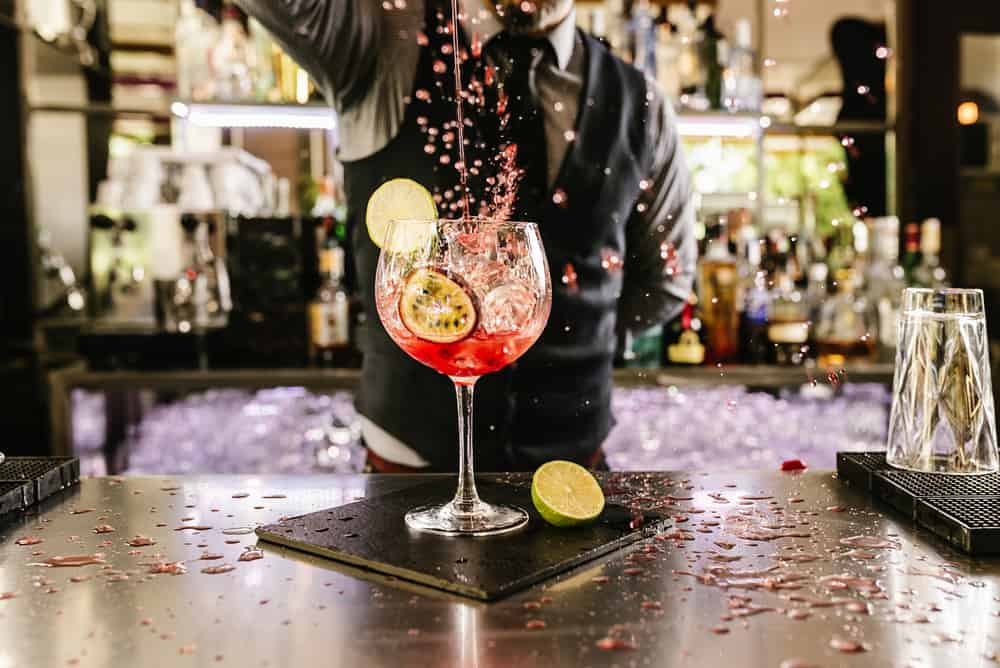 Try one of the liberty bar and restaurants craft cocktails using homemade syrups