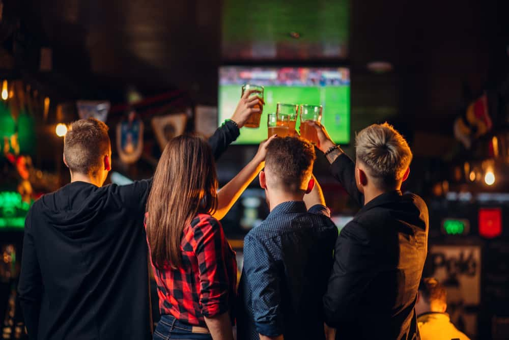 Head to this sports bar to catch a game or enjoy a cocktail