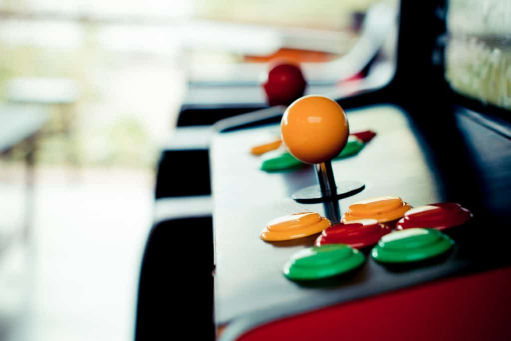 Vintage arcade games at Lowry Parcade and Tavern!