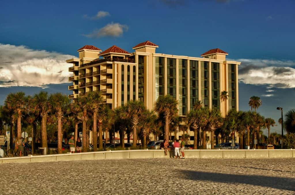 Pier House 60 Clearwater Beach Marina Hotel is right next to Pier 60.