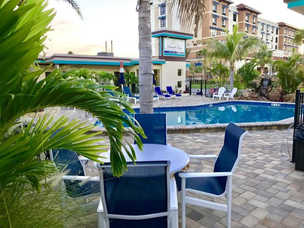 Island Cay at clearwater beach is one of the best clearwater beach hotels because it is in such an excellent location for great value