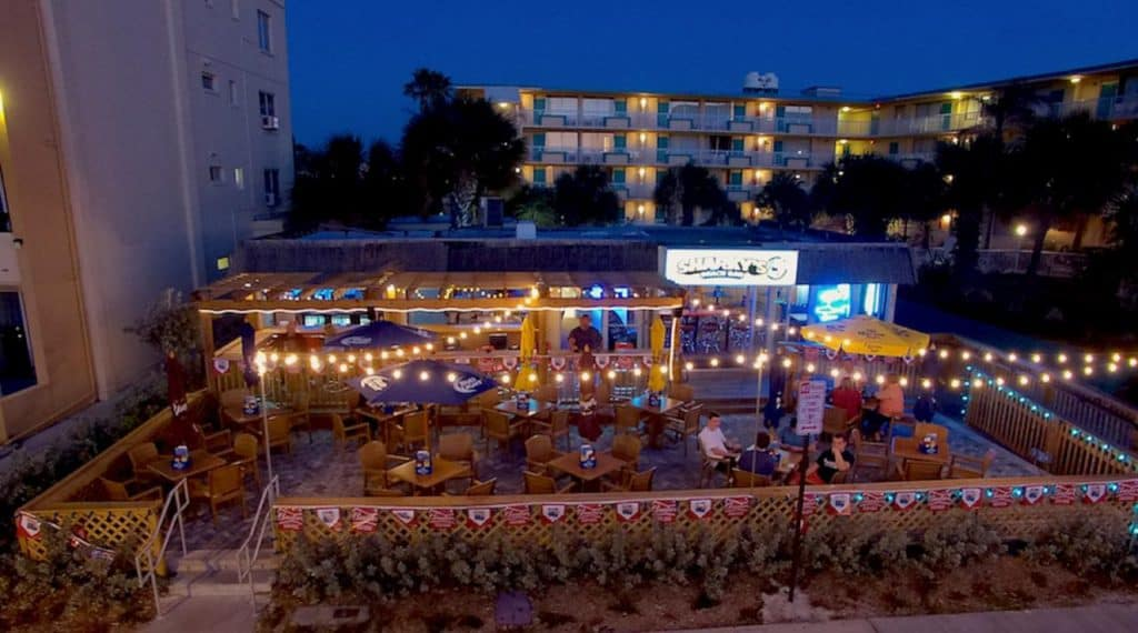This best clearwater beach hotel has a gorgeous outdoor bar