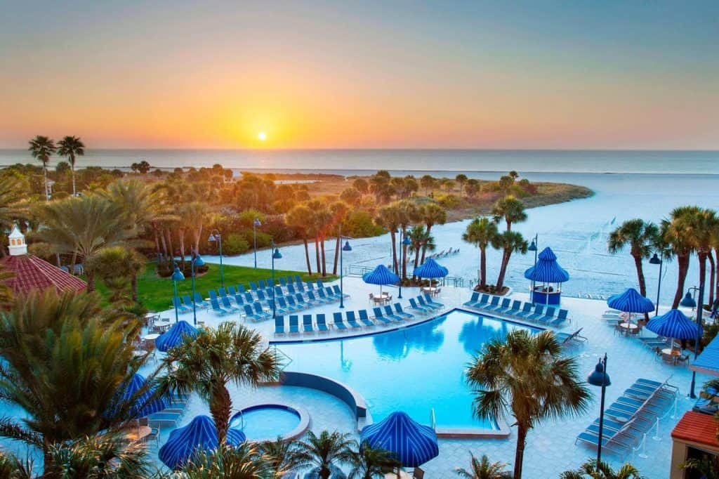 Hilton Clearwater Beach Resort & Spa is very well priced!