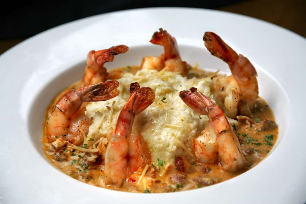 Try the shrimp and grits at one of the midtown restaurants in Tallahassee