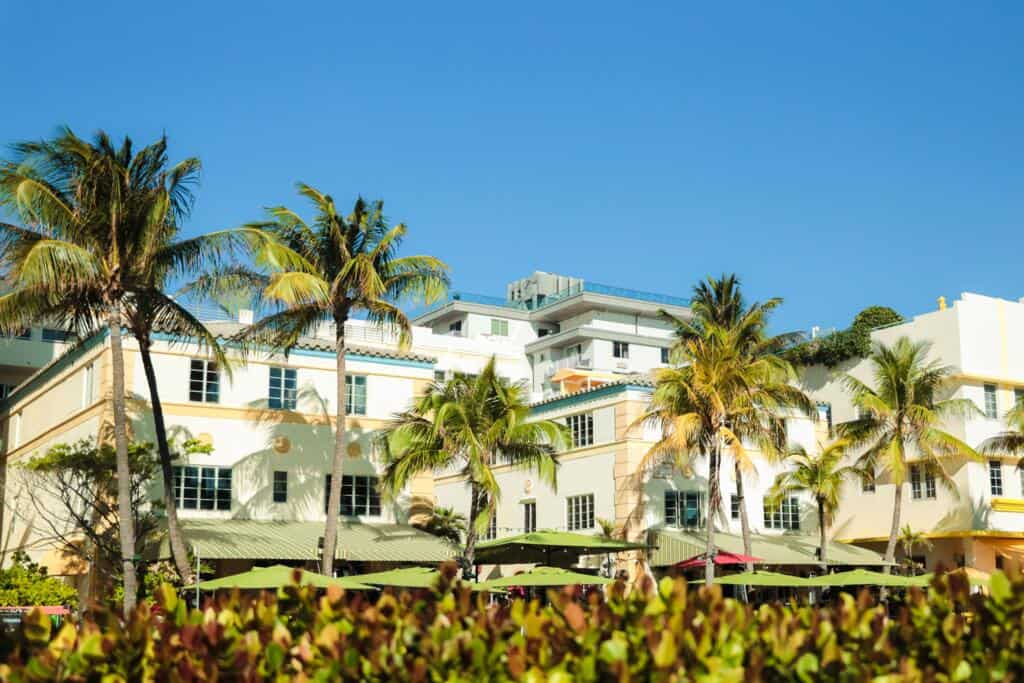 The Hotel Ocean on Miami Beach