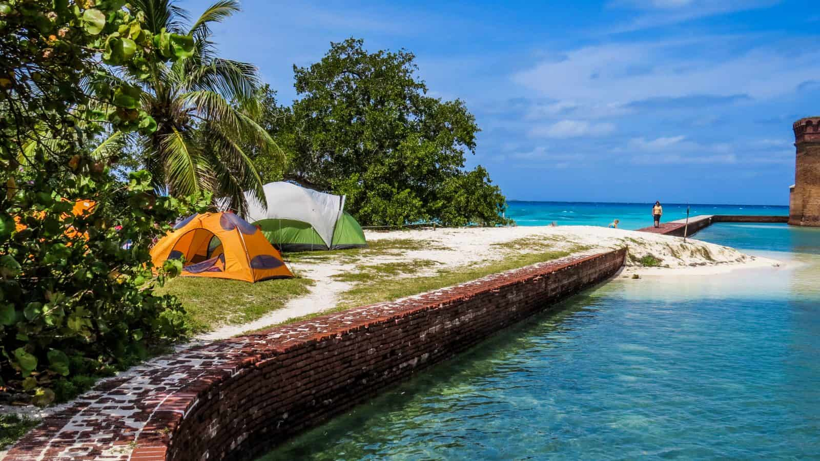 best places for camping in florida