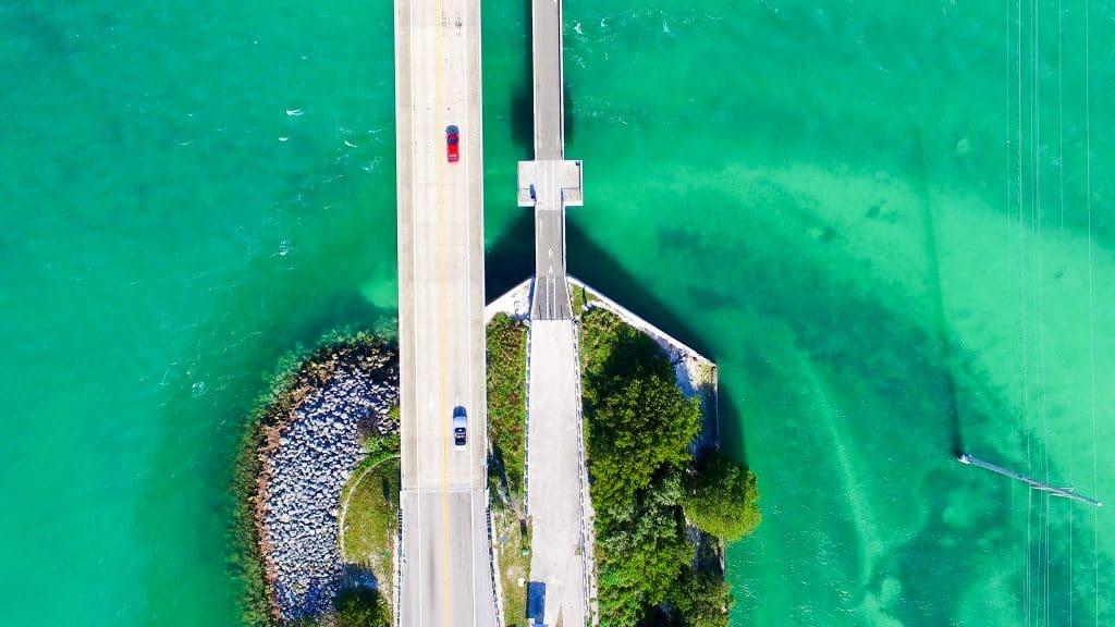 Bridge over the keys