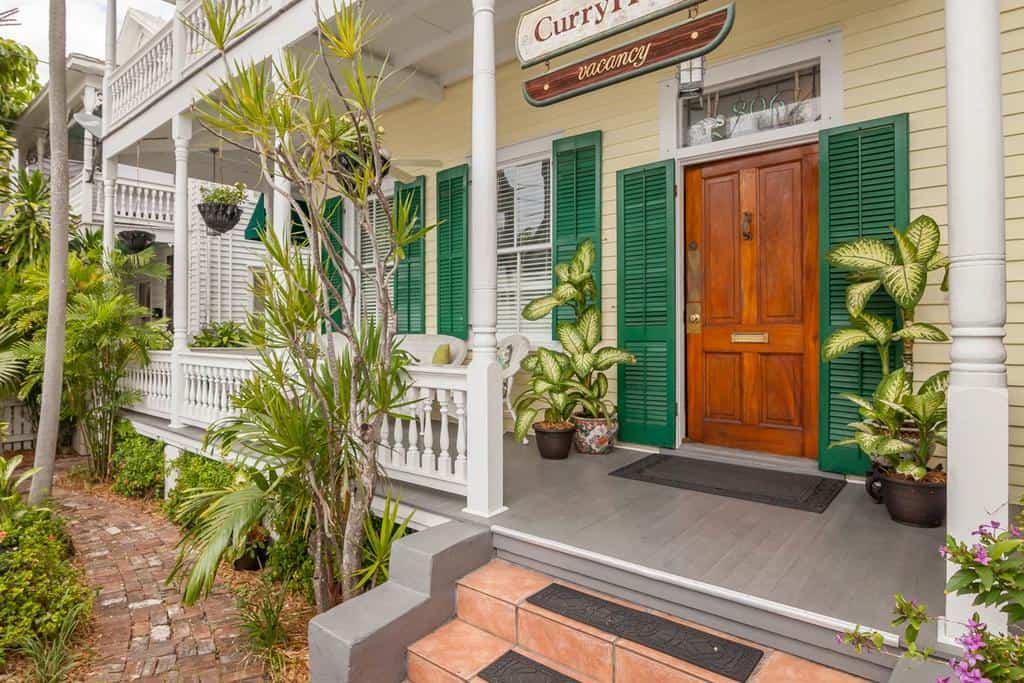 One of the key west hotels with a porch