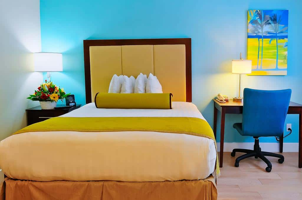 The bright room at the Silver Palms at Key West