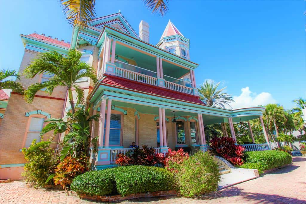 One of the beautiful hotels in key west
