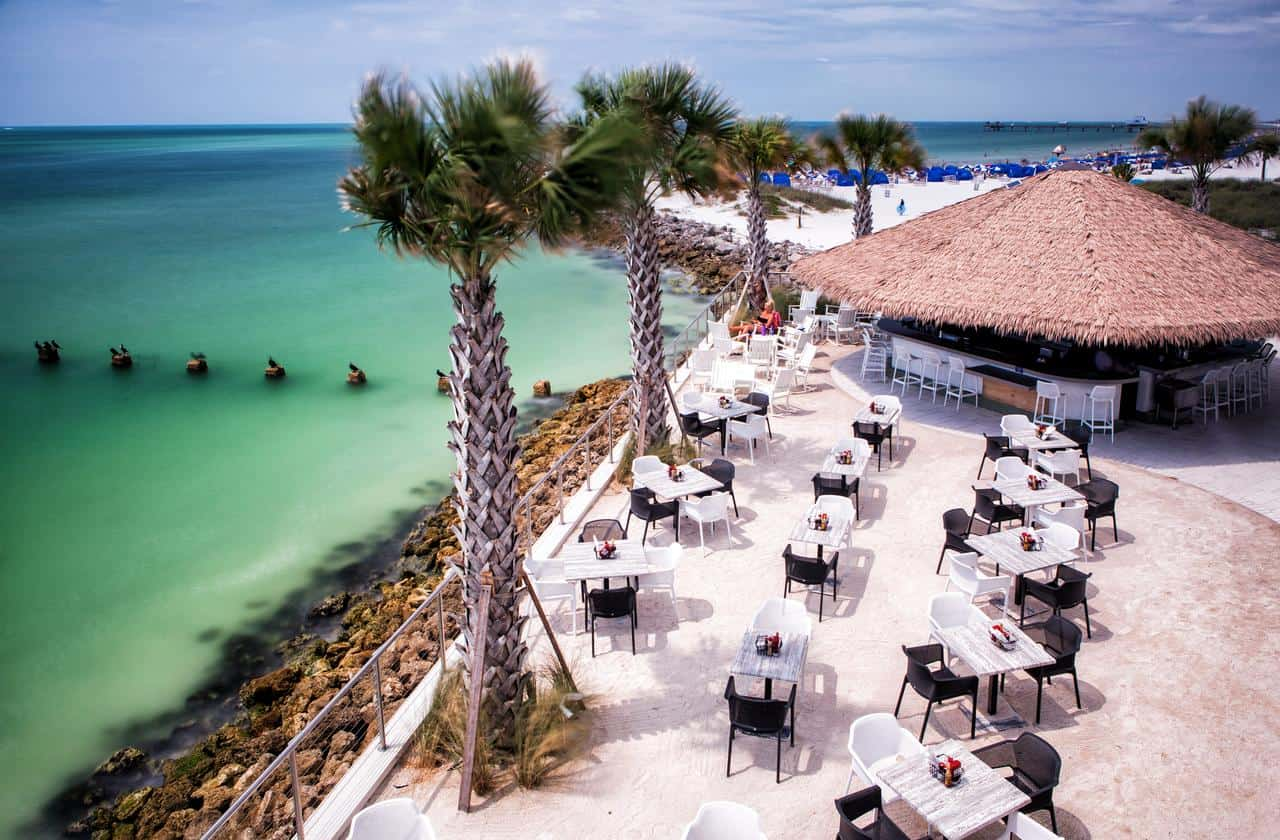 opal sands is one of the best clearwater beach hotels for gorgeous views