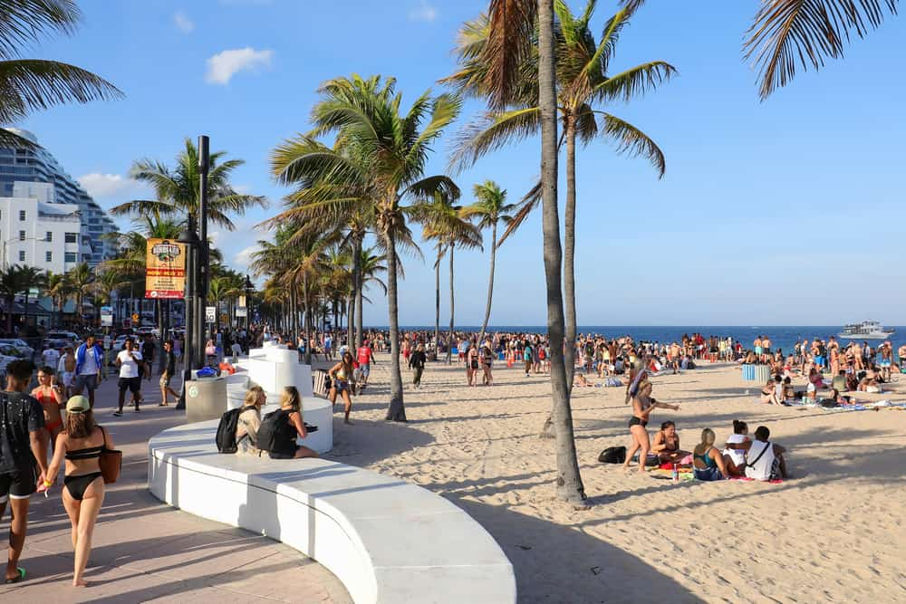 fort lauderdale just north of miami is known for its beaches and nightlife