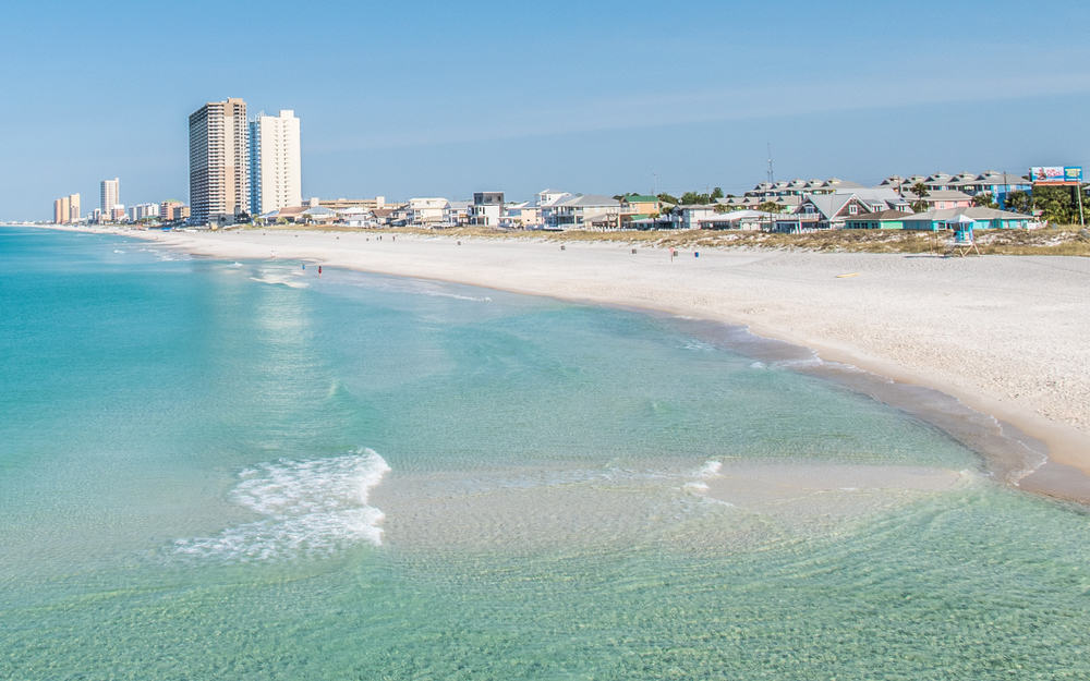 Panama City Beach is known as the spring break capital of the world and is party beach
