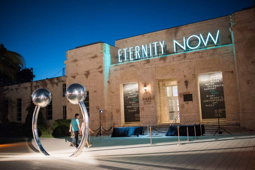 The Eternity Now exhibit at the Bass Museum of Art in Miami.