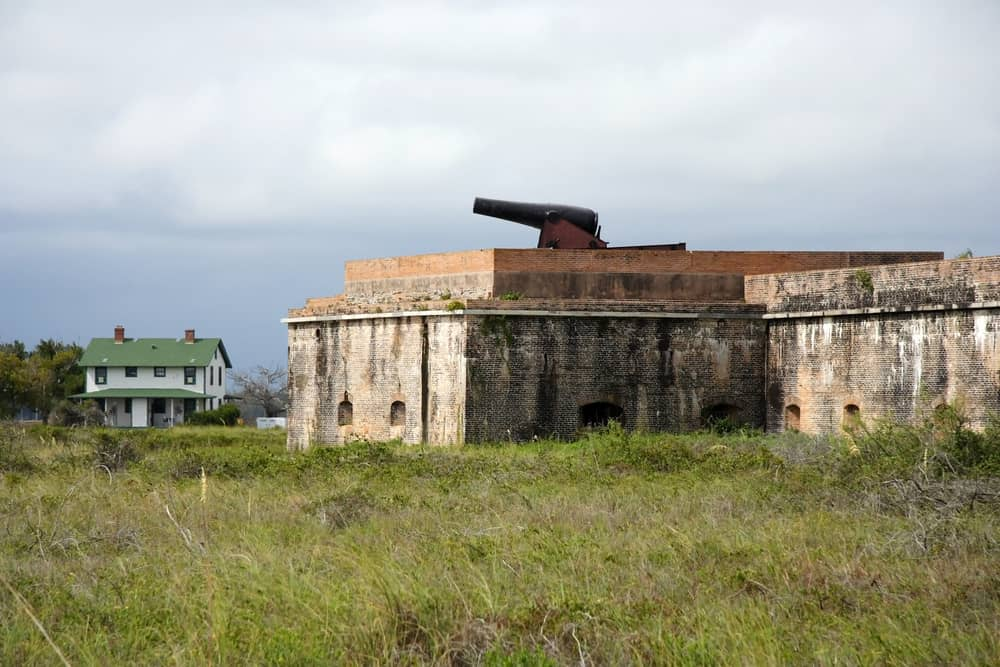 Fort Pickens is one of the forts built to protect Pensacola Bay