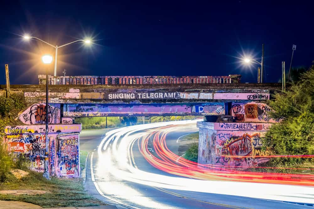 Head to Graffiti bridge if looking for something interesting to do in Pensacola