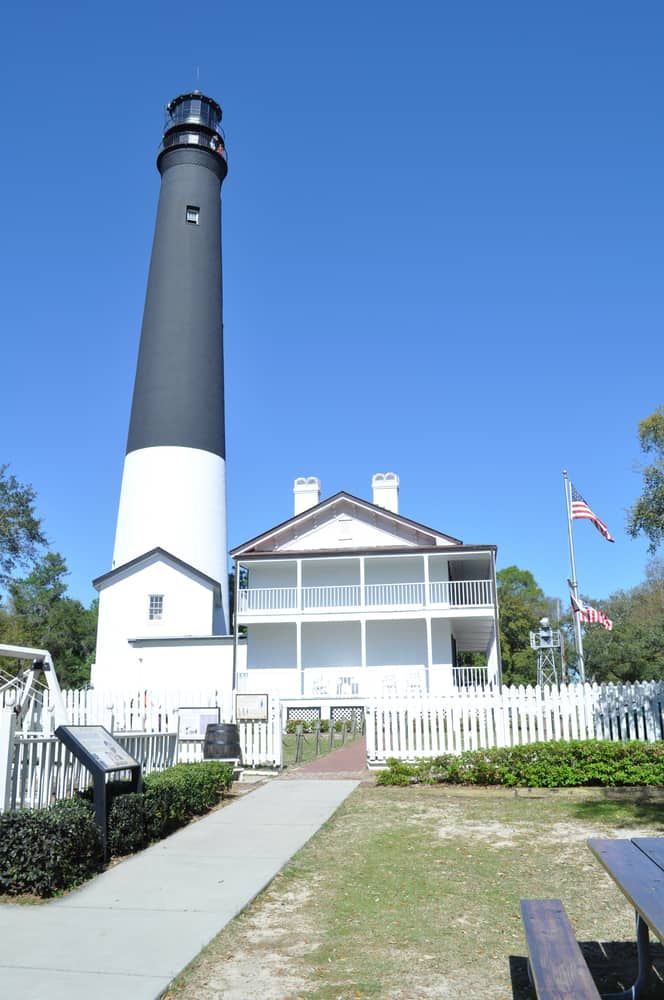 The lighthouse and museum is the perfect place if looking for a unique view of things to do in Pensacola