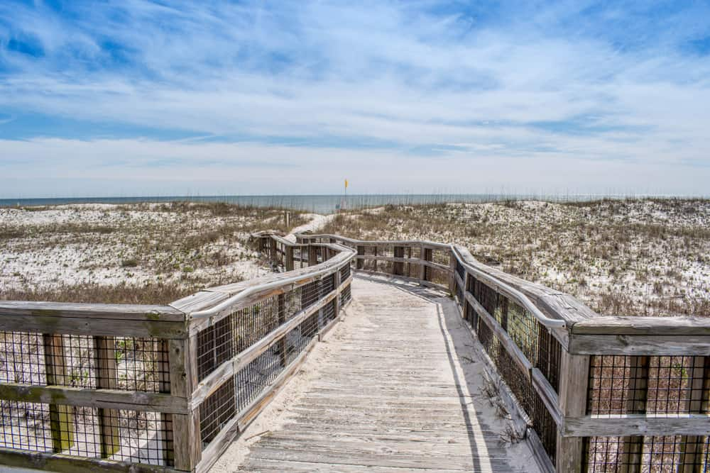 Take a walk on the boardwalk at Peridido Key State Park