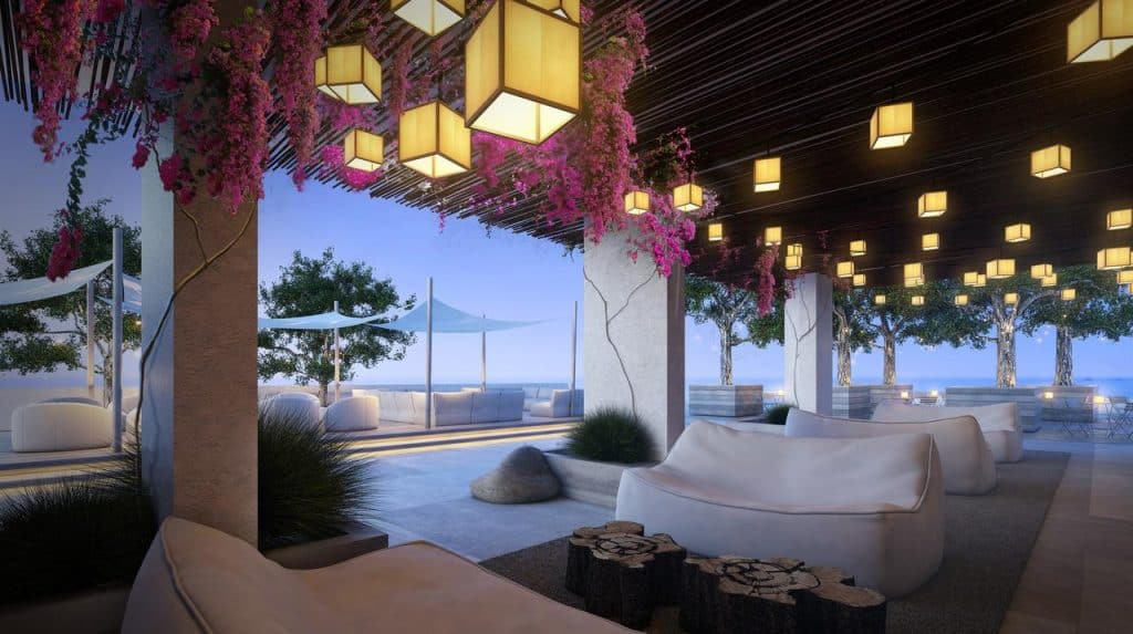 1 Hotel South Beach is one of the most beautifully decorated honeymoon resorts in Florida