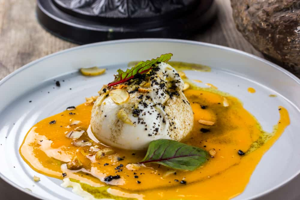 Try the Burratta at Crust one of the best places to eat in Miami