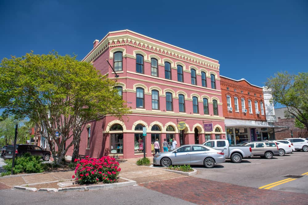 The historic district of Amelia Island