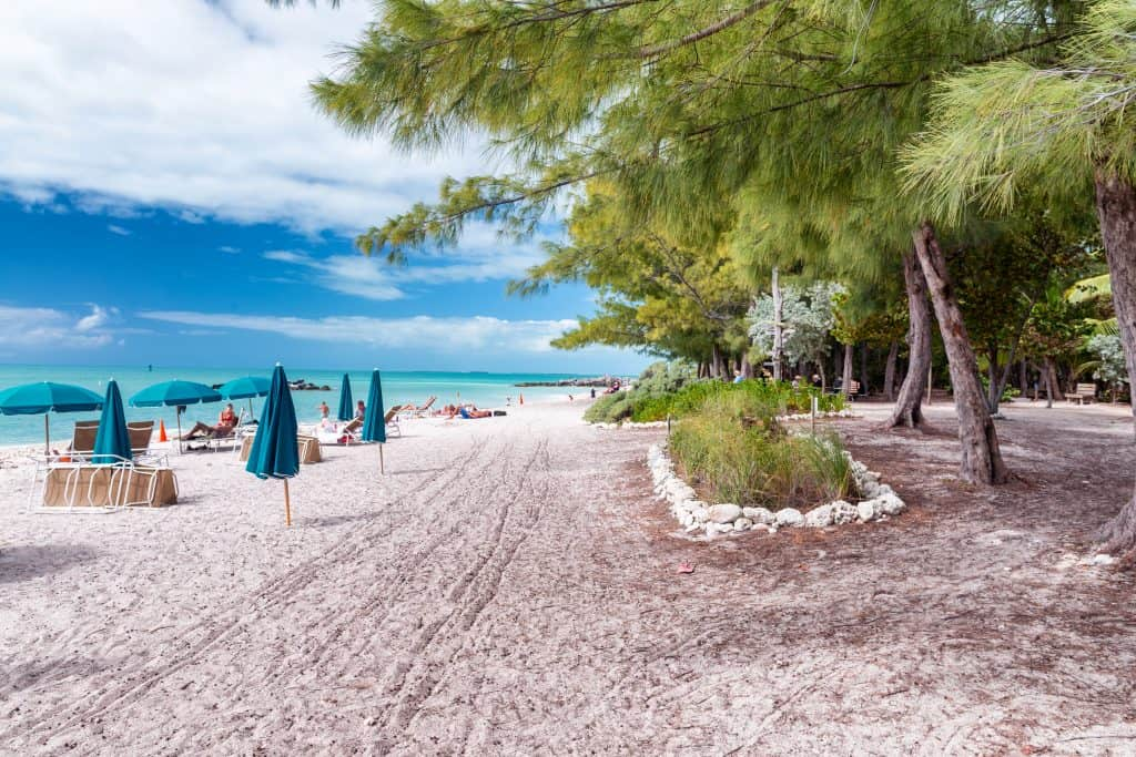 Fort Zachary State Park a lovely natural beach