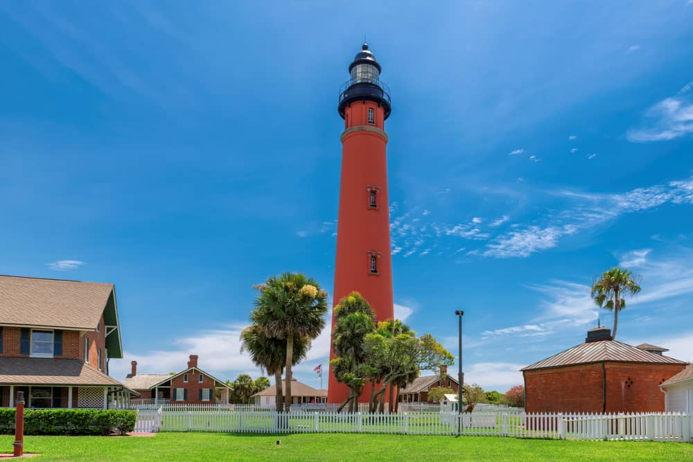 The lighthouse that looks over Daytona