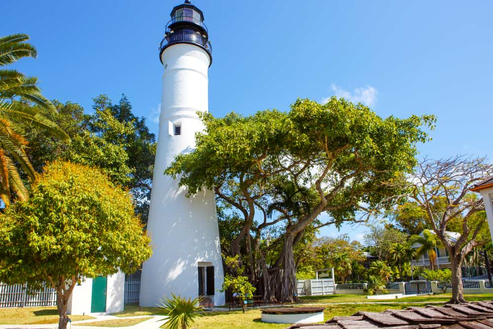 One of the lighthouses in Florida, the Key West Lighthouse