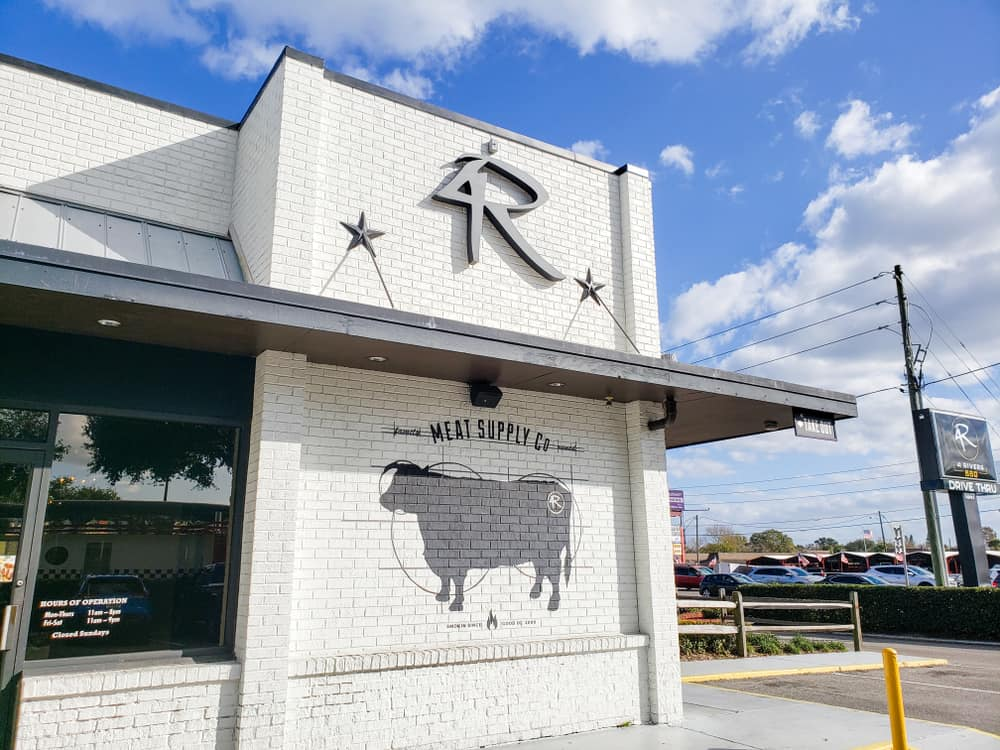 Head to 4 Rivers for delicious BBQ and sides