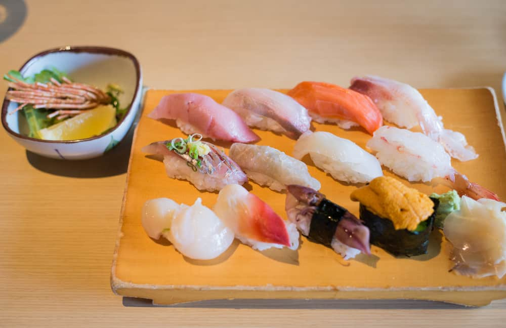 Eat the sushi tasting by the chef at Umi.