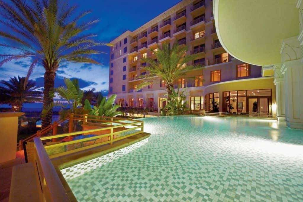 sandpearl private beach resort is home to one of the best restaurants in clearwater