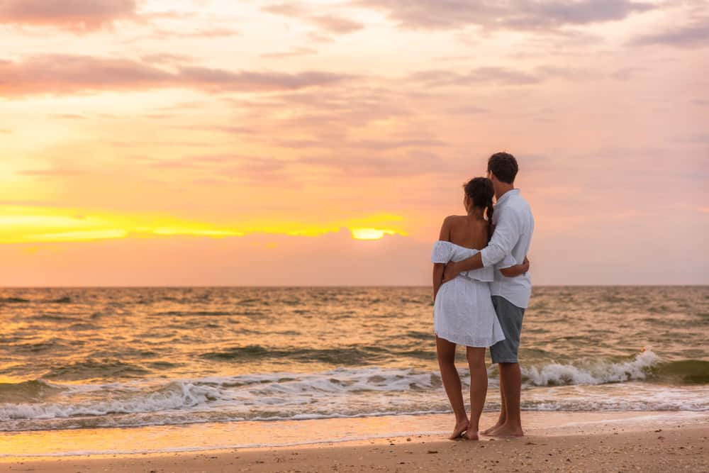 florida honeymoons are so romantic as the sunsets are so beautiful
