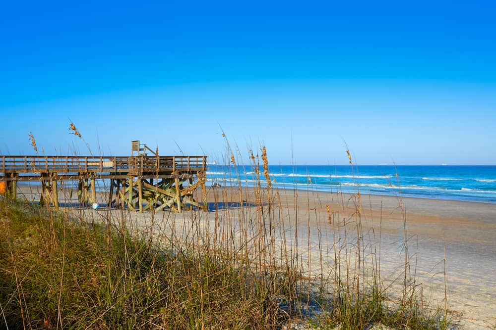 Jacksonville Beach in Florida