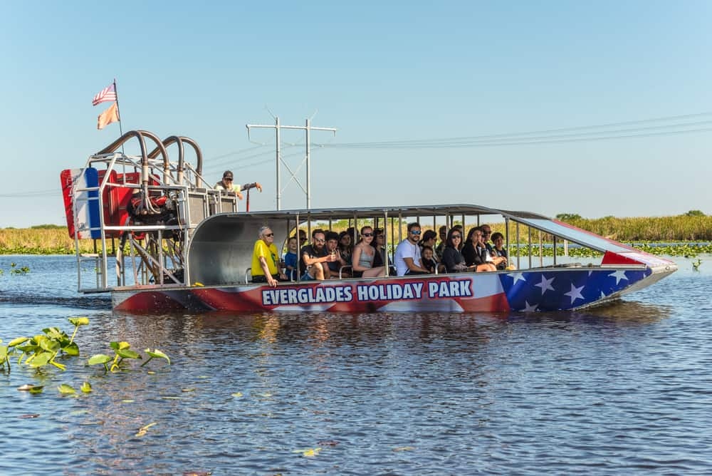 Everglades Holiday Park Fort Lauderdale your tour includes a 1 hour narrated Airboat ride and then a 15 minute live alligator rescue show