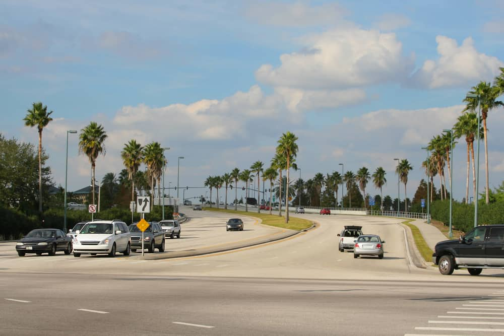 Driving in Florida article a junction