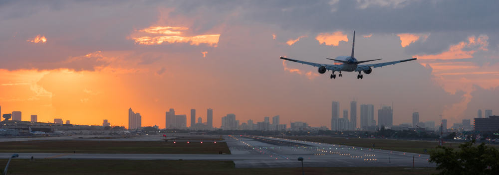 Head to one of the Florida Airports to begin your journey