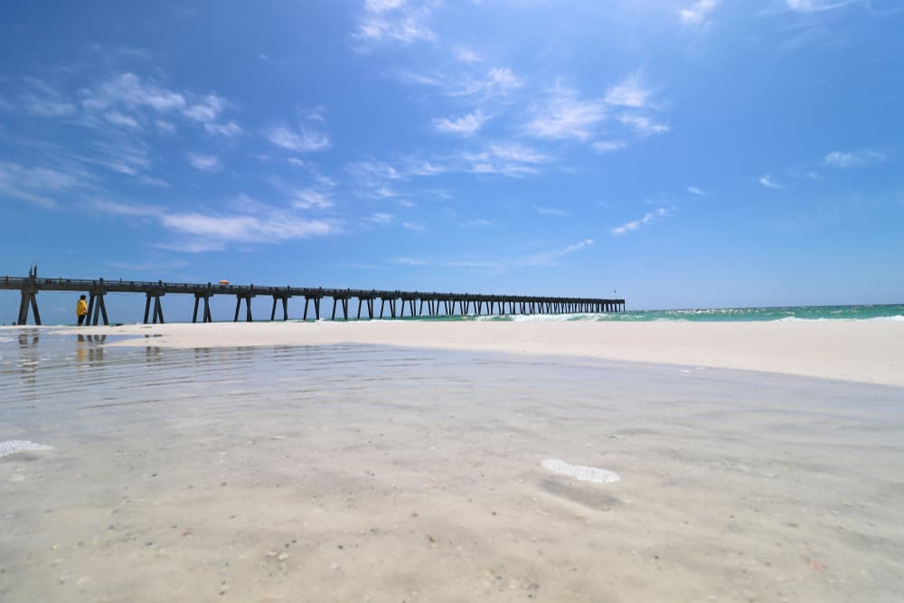 Deserted Navarre a florida gulf beaches