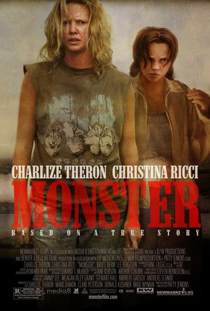 starring Chalize Theron, Monster is a movie about the notorious serial killer