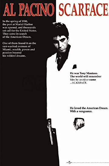 Scarface, a movie about Florida, is said to be one of the greatest crime movies of all time