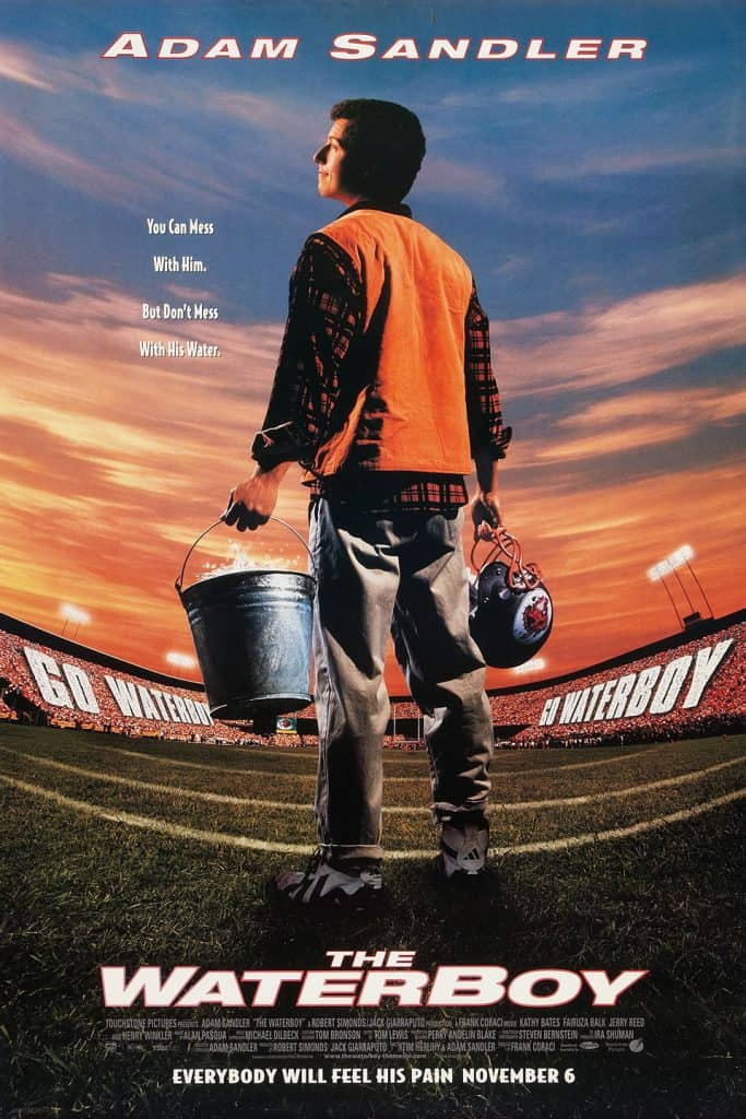 The Waterboy was actually filmed in Florida despite being set in Louisiana