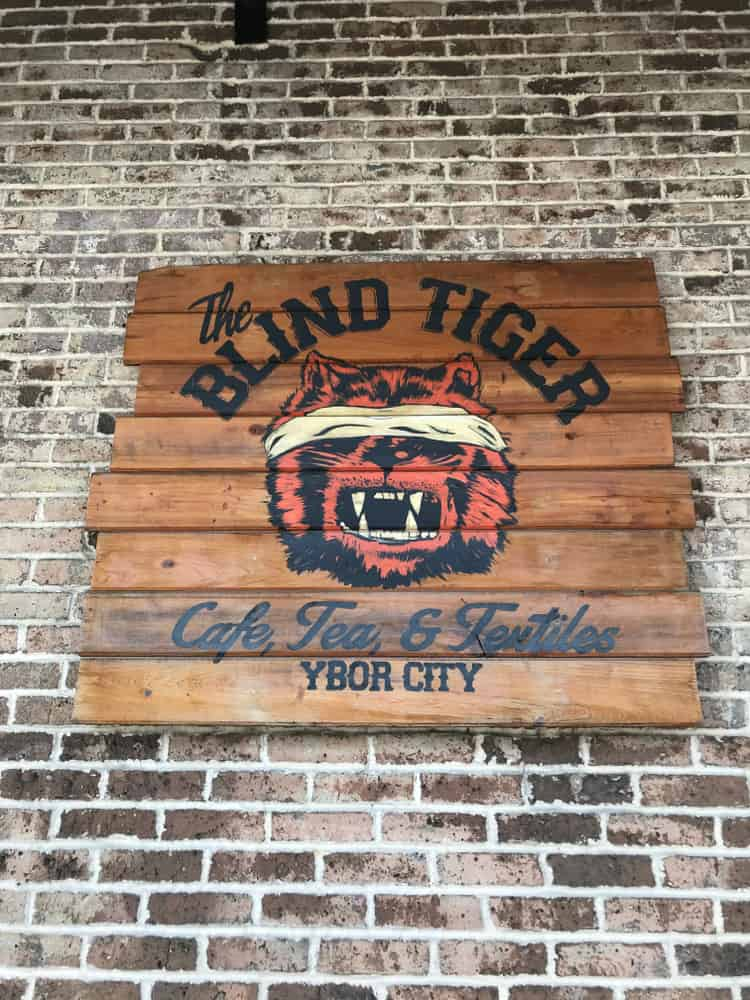 Head to Blind Tiget coffee company in downtown ybor