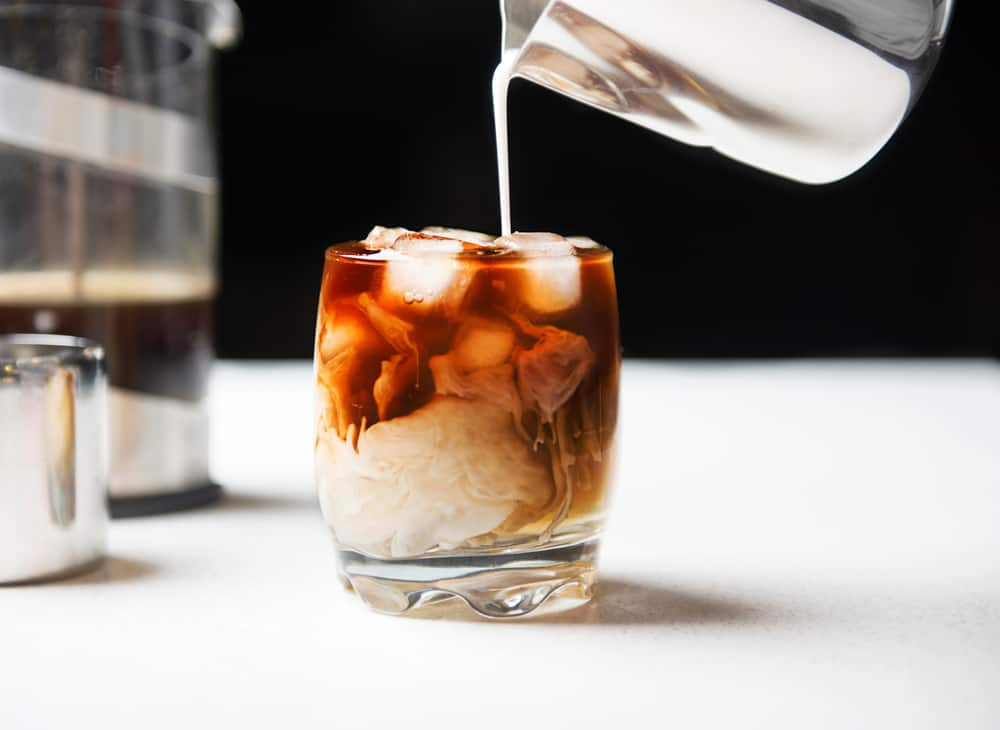 Head to buddy brew a local tampa coffee serving iced coffee