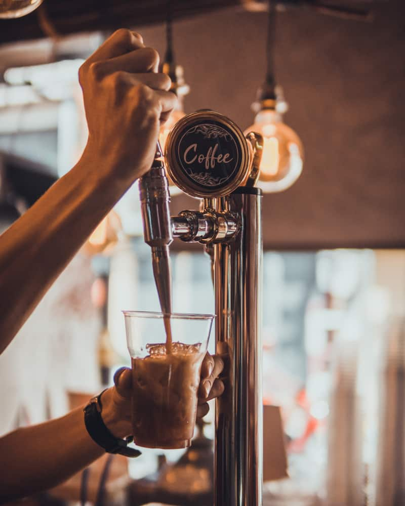Head to Ginger Beard for a delicious nitro cold brew